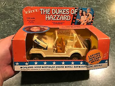 "Vintage 1981 ERTL Dukes Of Hazzard ""DAISY JEEP"" Die-Cast *BRAND NEW* - RARE"