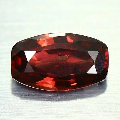 2.420 Cts Full Fire Natural Natural Earth Mine Red Zircon Loose Gemstone