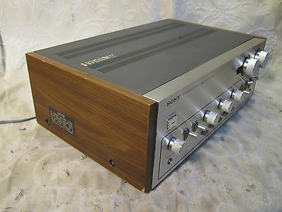 Sony Ta-3650 Totl Integrated Amplifier Very Clean Serviced