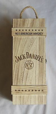 Jack Daniels 1000ml Old No.7 with flask Wooden Box Set (Korean Import)