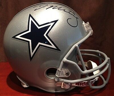 ***Demarco Murray*** Autographed Dallas Cowboys Full Size NFL Helmet Coa