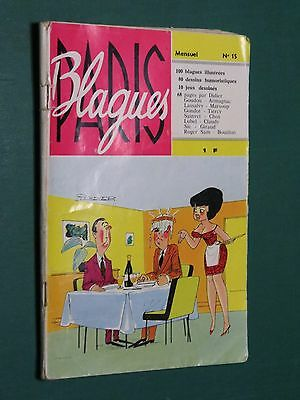 Paris Blagues n°15 1963