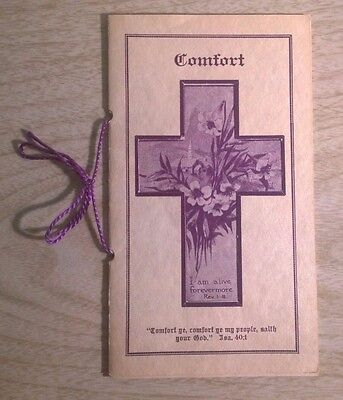 Comfort Pamphlet A Judson Arrick One by One Were Passing Over