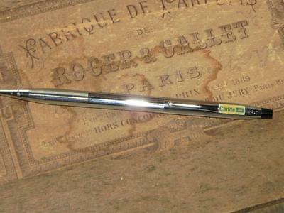 Vintage Silver Cross Pencil~Advertising Carlite Ford~Great Condition