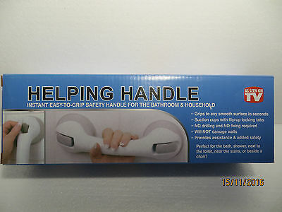 Helping Handle Assisting Safely Support Bar..Shower/Toilet/Chair/All Smooth Area