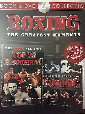 Boxing The Greatest Moments , Book & DVD Set
