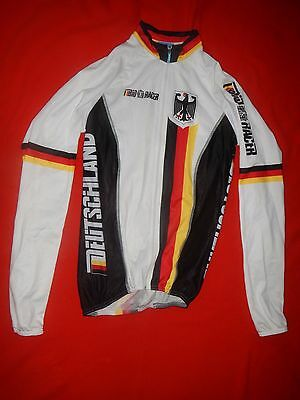 Original Germany National Pro Cycling Team Jacket Long Jersey Size 1 Top New Rar