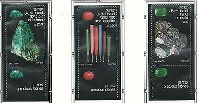 1981 Precious Stones set 3 all with Tabs  MUH/MNH  as Issued