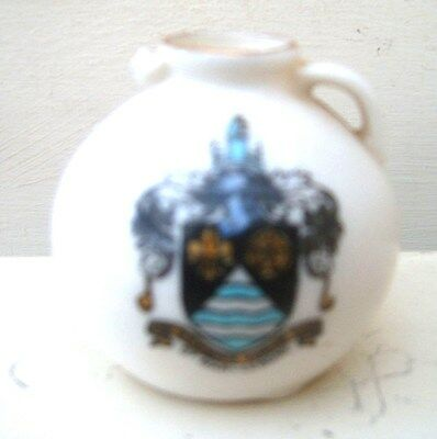 Antique Gloucester Jug Model W H Goss Crested (St Mary Lebone Crest) in Museum.