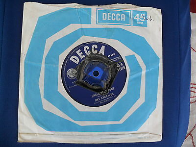 Max Bygraves- Jingle Bell Rock / Who made the Morning - Decca 45-F 11176