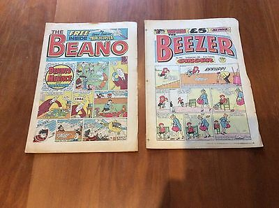 The Beano And The Beezer Comic  1986