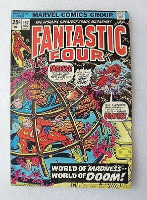 Fantastic Four 152 - Marvel Comics