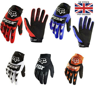 Cycling Gloves /Mitts Windproof Full Finger New FOX DIRTPAW Motobike  Bicycle
