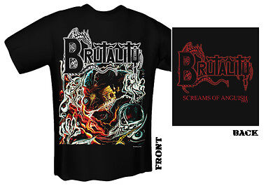 BRUTALITY - screams of anguish T-Shirt