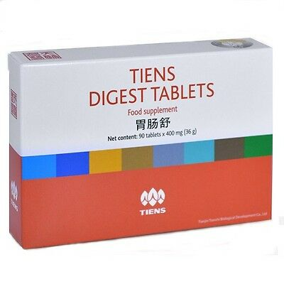 Tiens Digest Tablets 60 Billion CFU Daily Dose - Clinical Strength Probiotic