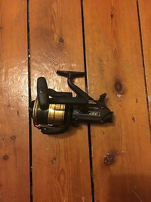 Shimano Baitrunner 4500b Fishing Reel, Carp, Cat, Pike Fishing Rare 1 Of 2 Reels