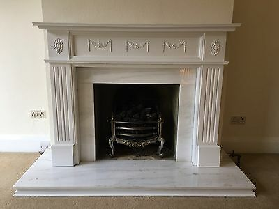 Complete Fireplace With Gas Coal Effect Fire