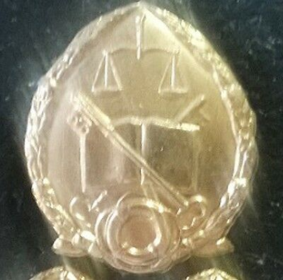 SWATF SWA Prison Services Cap Badge ® - South West Africa