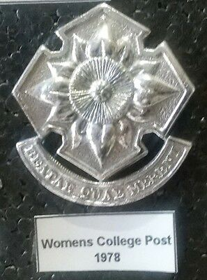 SADF Womens College Beret Badge 1978 - South African Defence Force