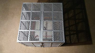 WWE WWF Hell In A Cell Wrestling Ring & Cage COMPLETE HUGE