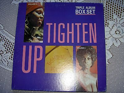 TIGHTEN UP - TROJAN RECORDS TRIPLE ALBUM BOX SET -  3 x VINYL LPS