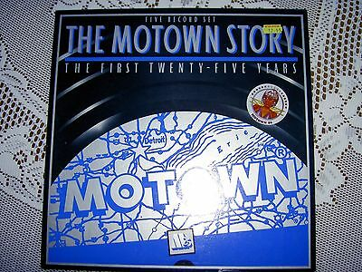The Motown Story - First 25 Years - 5 Vinyl Record Boxset