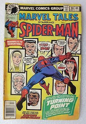 Marvel Tales #98 - Death of Gwen Stacey - Amazing Spider Man. Marvel comics