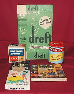 A Collection of Vintage Household Items~Retro Props~