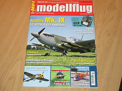 MODELLFLUG INTERNATIONAL 10/2016 - SPITFIRE Mk.IX/RED BULL EDGE 540 - OKTOBER