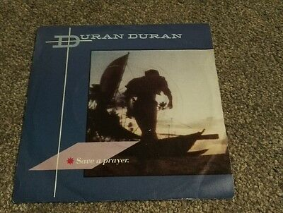 "Duran Duran 7"" vinyl single Save A Prayer 1982"