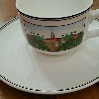Villeroy and Boch Naif Cup and Saucer