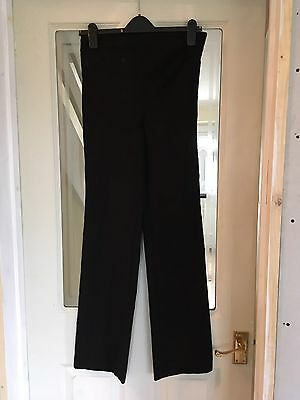 H&M Mama Black Work Trousers Maternity Size Small
