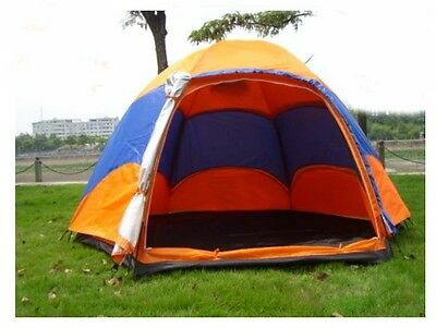 4-6 Persons Multi-function Family Outdoor Waterproof Beach Camping Hiking Tent #