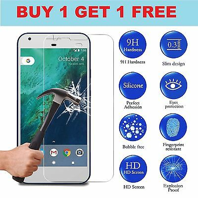 Google Pixel XL Clear Tempered Glass Screen Protector