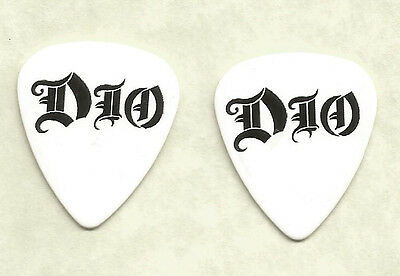 RONNIE JAMES DIO (Band Signature Logo) guitar pick -F