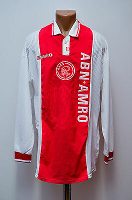 Ajax Amsterdam 1997/1998 Player Issue Home Football Shirt Jersey Umbro Vintage