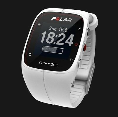 Polar M400 GPS runners watch with heart rate monitor & activity tracker