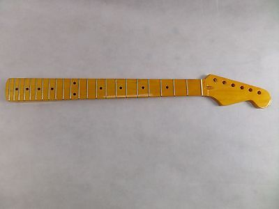 Guitar Neck Strat Canadian Maple Stratocaster 22 Frets High Gloss Brand New