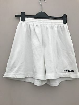 Ladies Reebok Fitness Shorts In White - Size 10