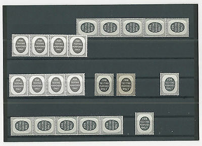Trade Price Stamps For Testing Purposes Only Stamps   Unmounted Mint