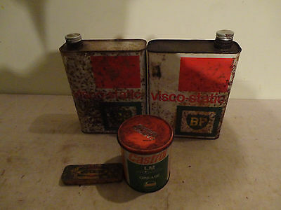 selection of collectable old tins
