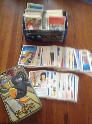 Club penguin trading cards