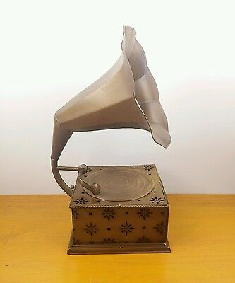 Display Gramophone with drawer / jewellery box