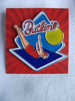 Butlins Collectable Pin / Badge (Rare)