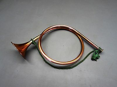 Hunting Horn Copper and Brass.