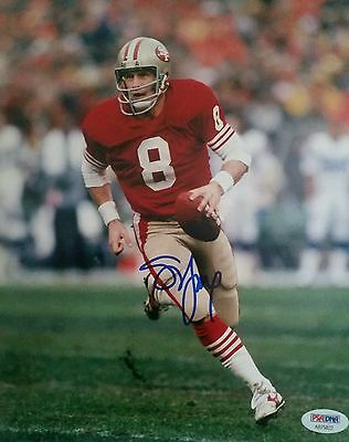 STEVE YOUNG SIGNED 8 x 10 PSADNA COA Buy Authentic SAN FRANCISCO 49ERS NFL