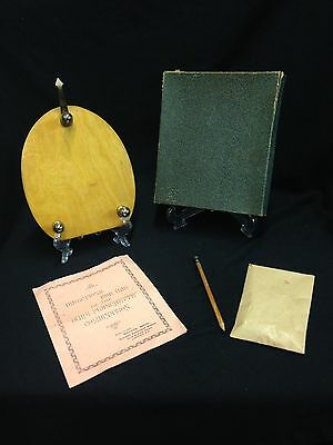 Rare Weyers Bros 1920's Writing Planchette Ghost Hunting /Paranormal Equipment