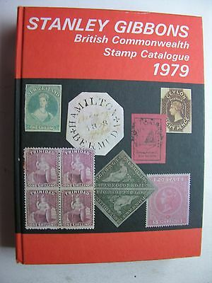1979 STANLEY GIBBONS BRITISH COMMONWEALTH POSTAGE STAMP CATALOGUE 81st Edition