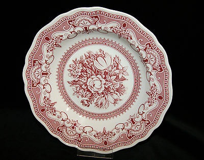 Hutschenreuther Maria Theresia Windsor rot  Kuchenteller 19,5 cm