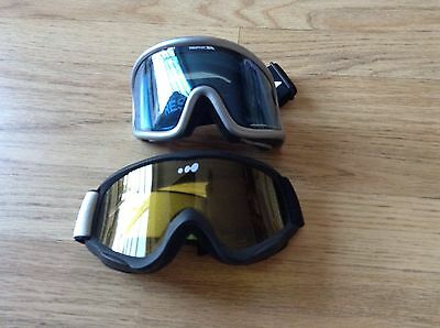 Ski Goggles Two Pairs Including One Trespass